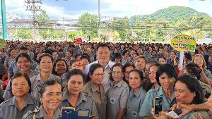 """ภูมิใจไทยลุย """"เมืองลุง"""" โชว์เอกภาพ สะเทือนปักษ์ใต้-ไร้เหลียวแลมานาน"""