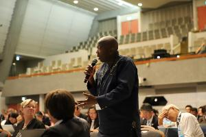 บรรยากาศในการประชุม STS Forum