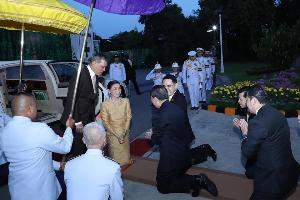 ในหลวง-พระราชินี ทรงเปิดอาคารศูนย์รวมนมแห่งใหม่สวนจิตรลดา