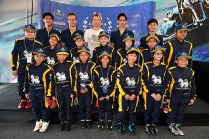 คิมี่ ไรโคเน่น นักขับแชมป์เอฟวัน 2007 จากฟินแลนด์ แอมบาสเดอร์ของสิงห์ คอร์เปอเรชั่น มาร่วมสร้างแรงบันดาลใจให้เด็กไทยและพัฒนาวงการมอเตอร์สปอร์ของไทย
