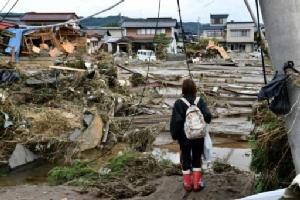 """ญี่ปุ่นจัดงบ 710 ล้านเยนช่วยเหลือพื้นที่ประสบภัย """"ไต้ฝุ่นฮากิบิส"""""""