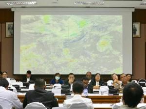 ผู้ว่าฯ สงขลา ติดตามการเตรียมความพร้อมของหน่วยงาน รองรับสถานการณ์ภัยพิบัติช่วงมรสุม