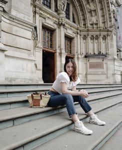 """""""พิมพิศา จิราธิวัฒน์"""" บุกเดี่ยวตะลุยเช็คอิน พิพิธภัณฑ์ห้ามพลาดในกรุงลอนดอน"""