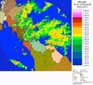 ศูนย์อุตุฯ ภาคใต้ฝั่งตะวันออกเตือนต่อเนื่อง ฝนตกหนักถึงหนักมากในภาคใต้ 18-19 ต.ค.นี้