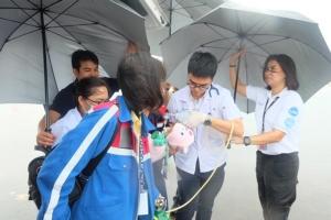 สถาบันการแพทย์ฉุกเฉินส่งเด็กป่วยหัวใจขึ้นเครื่องบินเจ็ทผ่าตัดด่วน