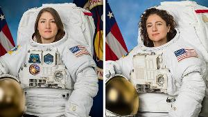 """นาซาสร้างประวัติศาสตร์ส่งหญิงล้วน """"เดินอวกาศ"""" เป็นครั้งแรก"""