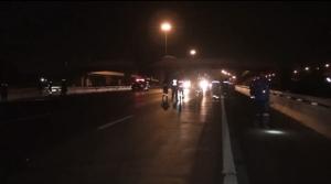 คนขับกระบะส่งโกโก้โดนมิวเซเว่นปาดหน้าก่อนไล่ยิงกันกลางถนนสายเอเชียอยุธยาเจ็บ 1 ราย