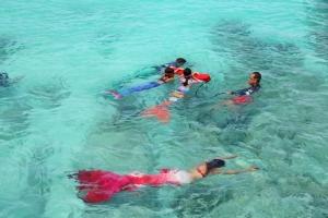 สวยงาม! กลุ่มเงือกน้อยบุกเกาะสิมิลัน ดำน้ำเก็บขยะใต้ทะเลและชายหาด รณรงค์แก้ปัญหาขยะทะเล