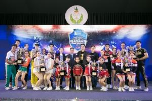 """""""ม.เกษมบัณฑิต"""" คว้าแชมป์เชียร์ลีดดิ้งชิงแชมป์ประเทศไทย """"แลคตาซอย"""" มอบ 1 แสนหนุนชิงแชมป์โลกที่ญี่ปุ่น"""