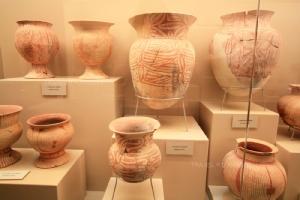 โบราณวัตถุภายในพิพิธภัณฑสถานแห่งชาติ บ้านเชียง