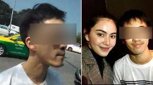 """เกลียดประเทศไทยแต่ชอบดาราไทย? เผยภาพหนุ่มแว่นหัวร้อนถ่ายคู่ """"ใหม่-นาย"""""""