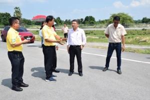 รอง ผวจ.กาญจน์แนะให้ประชาชนเตรียมพร้อมรับการเปลี่ยนแปลง หลังทางหลวงพิเศษหมายเลข 81 บางใหญ่-กาญจนบุรีเกิด