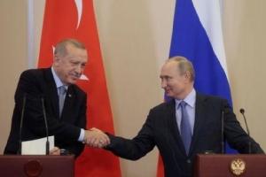 """ผู้นำตุรกีขู่จะขจัด """"ผู้ก่อการร้าย"""" ออกจากชายแดนซีเรียให้หมด หากข้อตกลงกับรัสเซียล่ม"""