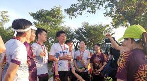 """""""สาธิต"""" ร่วมวิ่ง run for ลันตา ชวนดูแลสุขภาพ ลั่นปมgspไทยมีสิทธิ์ตัดสินใจเพื่อปชช."""