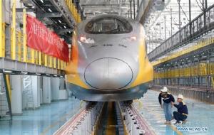 จีนเตรียมใช้ระบบขับอัตโนมัติ รถไฟความเร็วสูง ปักกิ่ง-จางเจียโข่ว