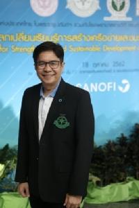 นพ. เพชร รอดอารีย์ เลขาธิการสมาคมโรคเบาหวานแห่งประเทศไทยฯ