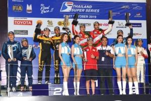 'สิงห์ มอเตอร์สปอร์ต' แชมป์ส่งท้ายซีซั่น ซิ่งทางเรียบไทยแลนด์ซูเปอร์คาร์ 2019