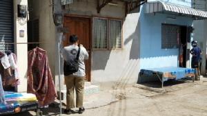 บ้านของนายเมธี อยู่ในชุมชนมั่นคง เขตเทศบาลนครอุดรธานี