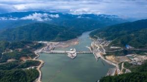 เขื่อนไซยะบุรี มูลค่า 4,470 ล้านดอลลาร์ในลาว. -- AFP.
