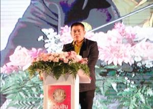 """""""ธรรมนัส"""" ร่วมคิกออฟ โครงการประชารัฐสร้างไทยพัฒนาล้านนาฯ จ.เชียงใหม่ -  แจก ส.ป.ก. 4-01 ให้เกษตรกร อ.สันติสุข จ.น่าน"""