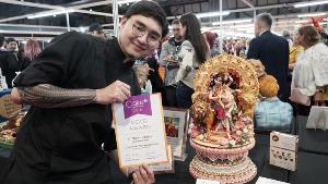 น้ำตาลลิน ทุ่มสุดพลังส่งตัวแทนเค้กดีไซเนอร์ไทย หวังยืน1 บนเวทีโลก ในงาน Cake International 2019 ณ NEC เมือง Birmingham  ประเทศอังกฤษ