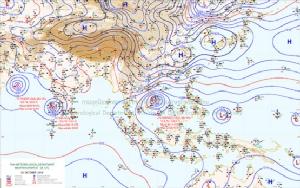 กรมอุตุฯ เตือนไทยอากาศเย็นถึงหนาว-ฝนตกหนักบางแห่ง
