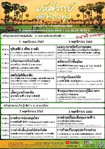 พิพิธภัณฑ์การเกษตรฯ จัดงานมหัศจรรย์แห่งท้องทุ่ง มหัศจรรย์วิถีเกษตรไทย