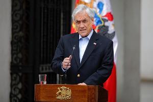 ประธานาธิบดีเซบาสเตียน พิเนรา ของชิลี