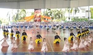 โรงเรียนเซนต์ปอลคอนแวนต์ จัดแข่งขันมหกรรมกีฬาสี SPC เกมประจำปี 2562