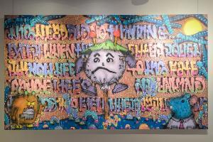Chin's Gallery จัดแสดงผลงานศิลปะแนวกราฟฟิตี้ โดยศิลปินระดับโลก สไนป์วัน (Snipe1) เป็นครั้งแรกในภูมิภาค