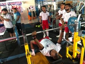 กลุ่มผู้ชื่นชอบกีฬา Powerlifting จัดแข่งขันยกลูกเหล็กที่เมืองพัทยา จ.ชลบุรี