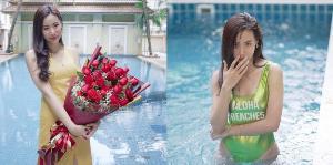"""เหมือนจะไม่โสดแล้ว!! """"ญิ๋งญิ๋ง"""" อวดรูปคู่ดอกไม้ปริศนา หลังมีคนส่งมาให้กำลังใจ"""