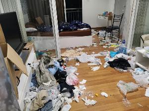 ช็อก! สาวเผยสภาพคอนโดฯ หลังมีชาวต่างชาติและแฟนสาวเข้าพัก ทิ้งขยะเกลี้ยงเต็มห้อง
