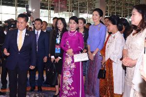 รมว.ทส.ร่วมพิธีเปิดการประชุมสุดยอดอาเซียน ครั้งที่ 35 พร้อมจัดกิจกรรมเชิงวิชาการคู่สมรสผู้นำประเทศสมาชิกอาเซียน