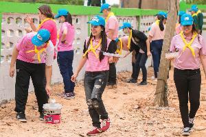 จิตอาสาจุฬาฯสามัคคีร่วมฟื้นฟู 11 โรงเรียนหลังน้ำท่วม จ.อุบลฯ ครั้งที่ 2