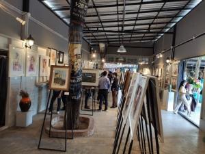 ศิลปินสีน้ำทั่วประเทศกว่า 40 ชีวิตร่วมแสดงผลงานจุดประกายเมืองท่องเที่ยวศิลปะ