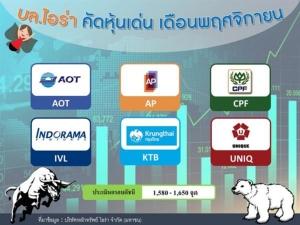 บล.ไอร่า ชี้หุ้นไทยสัญญาณฟื้นตัวให้กรอบดัชนี 1,580-1,650 จุด