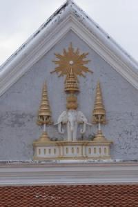 หน้าบันพระอุโบสถ