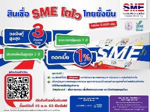 """ธพว.จัดหนัก """"สินเชื่อ SME โตไวไทยยั่งยืน"""" ดอกเบี้ย 1% เปิดรับ 15 พ.ย.นี้"""