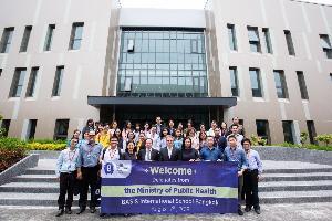 กรมอนามัย กระทรวงสาธารณสุข เยี่ยมชมการจัดการด้านสิ่งแวดล้อมและคุณภาพอากาศภายในโรงเรียนนานาชาติเบซิส กรุงเทพฯ