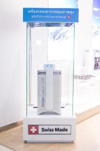 """THRobotics เปิดตัว """"IQAir"""" เครื่องกรองอากาศระดับโลก ตั้งเป้าครองส่วนแบ่งตลาด 25% และเติบโต 100% ใน 5 ปี"""
