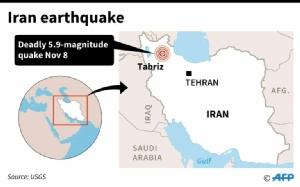 เกิดแผ่นดินไหวในอิหร่าน ตายแล้ว 5 ราย บาดเจ็บอีก 120