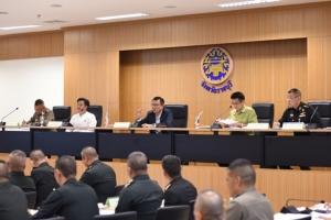 ผู้ว่าฯ ราชบุรี เรียกประชุมเตรียมความพร้อมต้อนรับนายกรัฐมนตรี และคณะรัฐมนตรี
