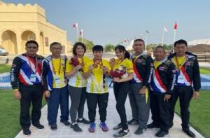 แม่นปืนไทย ผงาดคว้าทองเอเชีย พร้อม 3 โควต้าลุยโอลิมปิก