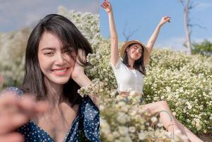 """สวยกว่าดอกไม้ก็ """"ใหม่ ดาวิกา"""" ซีนนี้ล่ะจ้า"""