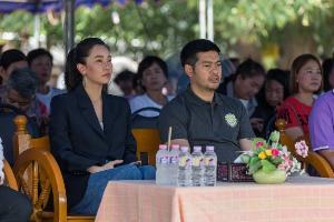 """""""นุ่น"""" เวรี่แฮปปี้ มีโอกาสเสิร์ฟอาหารให้ผู้นำอาเซียน ถ่ายทอดความเป็นไทย"""