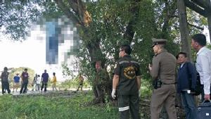 ชายวัย 71 ปีป่วยซึมเศร้าทะเลาะเมีย เครียดผูกคอตายบนต้นไม้