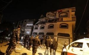อิสราเอลทิ้งระเบิดสังหารแกนนำกลุ่มนักรบญิฮาดในกาซา