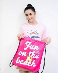 """""""มุกดา-มะเหมี่ยว-เบสท์"""" ชวนสาวกคิตตี้ ห้ามพลาด! Hello Kitty Run Pattaya 2019 วันที่ 16 พ.ย.นี้"""
