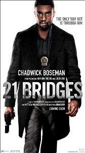 """""""แชดวิก โบสแมน"""" เปิดทีมล่าปิดทางหนี ไปกับแอ็คชั่นมันส์ระห่ำเดือด ใน """"21 Bridges เผด็จศึกยึดนิวยอร์ก"""""""